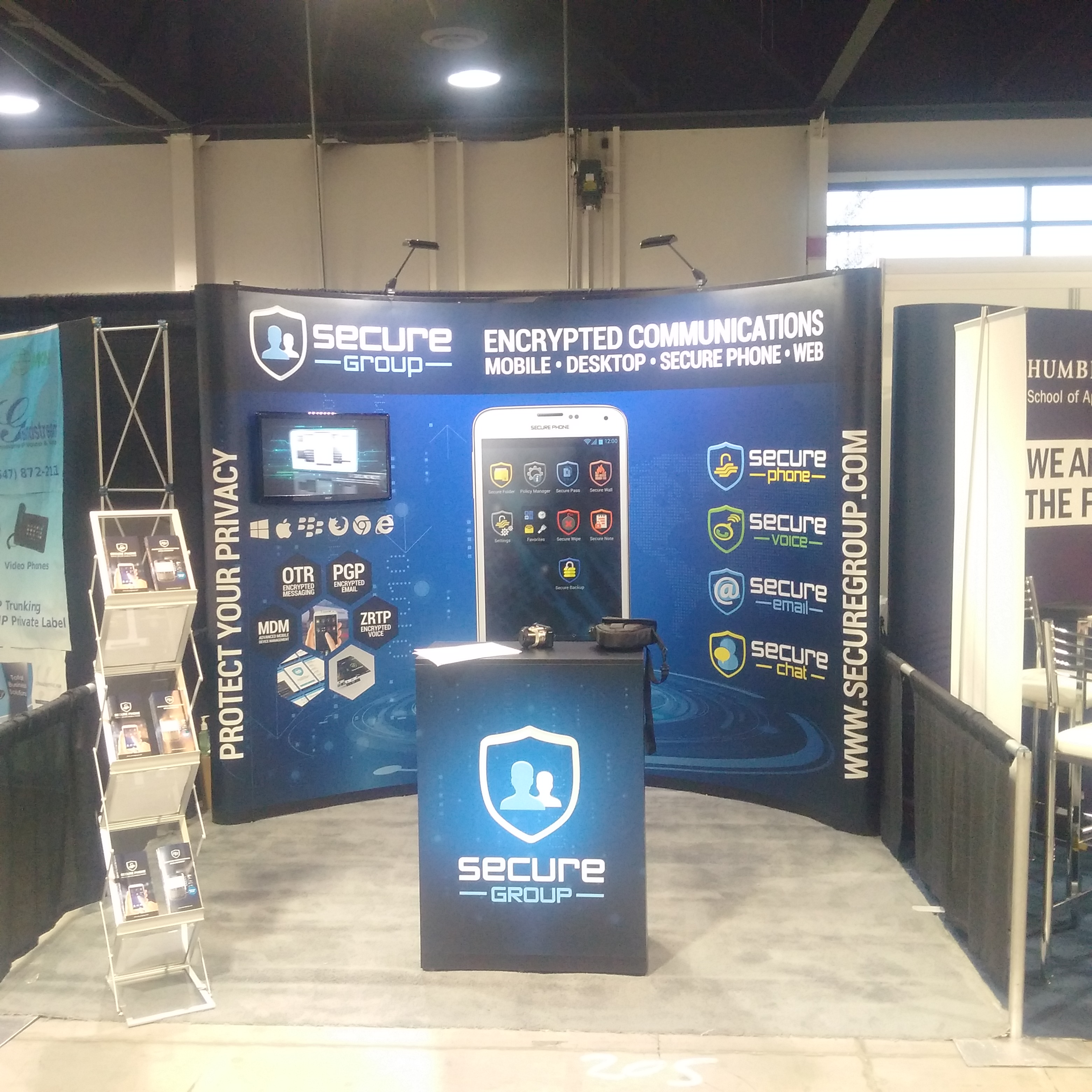 Secure Group at the Canadian Wireless Tradeshow