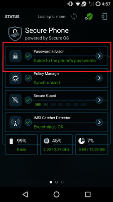 Password - advisor