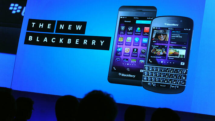 BlackBerry OS 10 phones