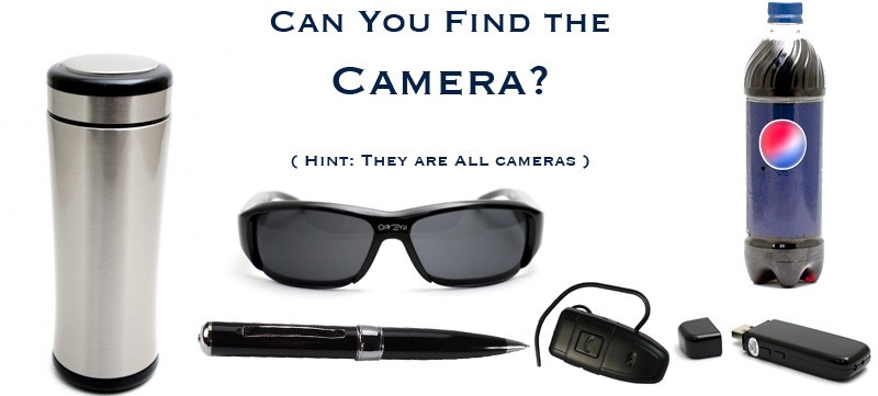 how to detect listening devices or hidden cameras