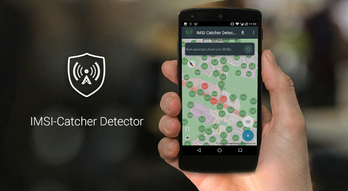 Secure Phone comes out of the box with the IMSI-Catcher Detector app.
