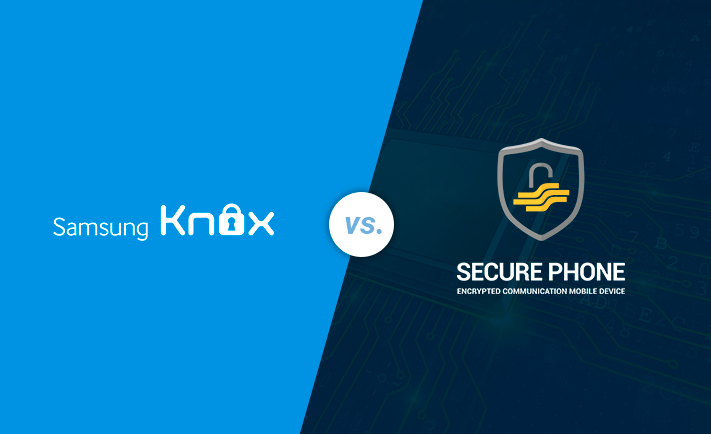 How does Samsung Knox compare to Secure Phone?