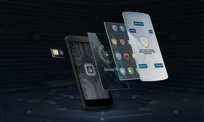 We modified Secure Phone on every level to reduce its attack surface.