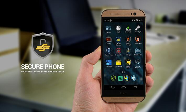 Secure Phone is a device that makes no compromises with security