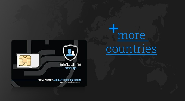 We are adding more countries and mobile networks to the coverage provided by Secure SIM.