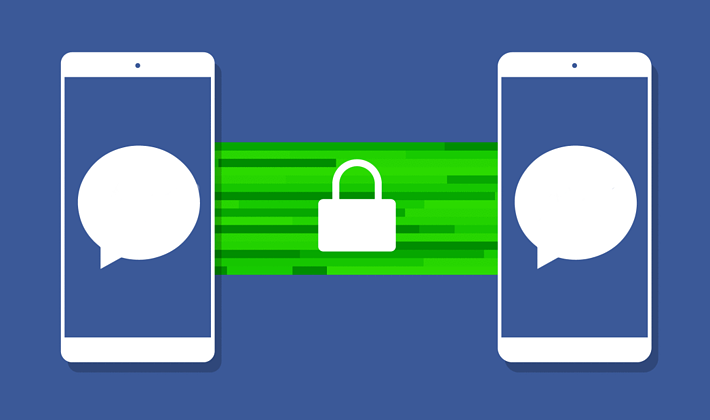 Encryption ensures no one reads your messages.