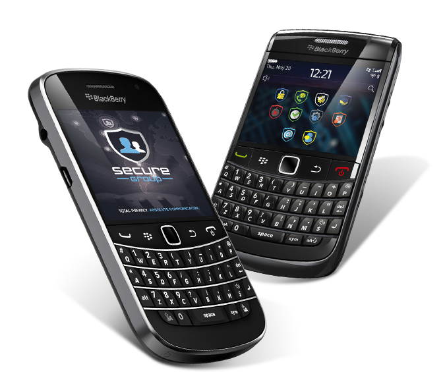 Secure BlackBerry