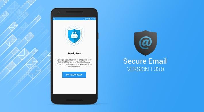 Secure Email v.1.33.0