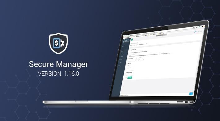 Secure Manager v1.16.0