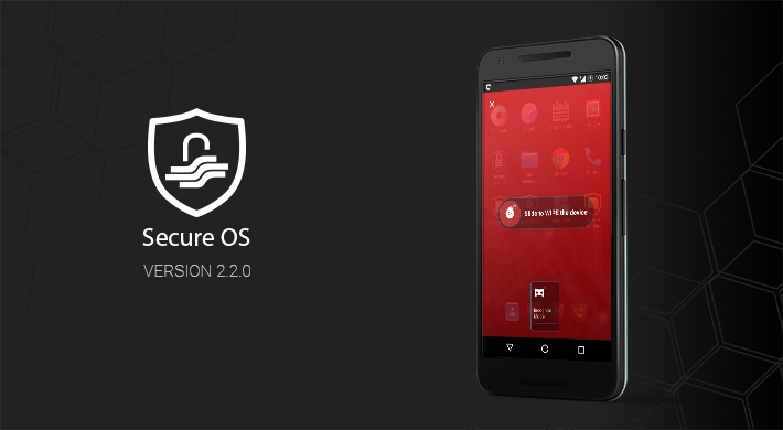 Secure OS 2.2.0 brings new features that help users react quicker in critical situations.