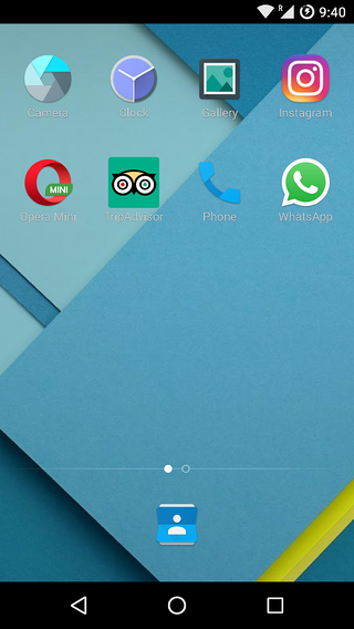 Incognito Mode shows a fake home screen with decoy icons.