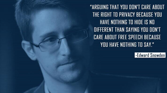 Edward Snowden Quote