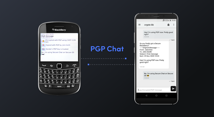 Secure Chat 3.5 - PGP Chat