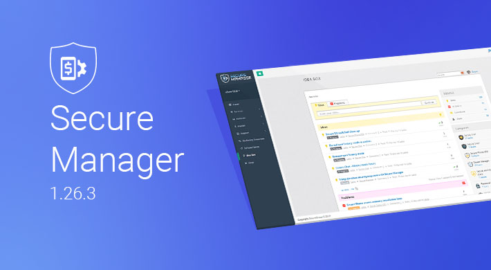 Secure Manager 1.26.3