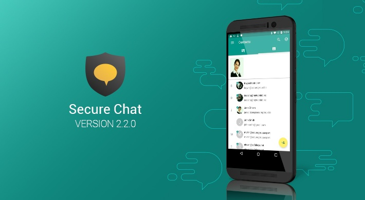 Secure Chat v2.2.0: All your contacts in one place