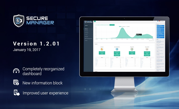 Official release of Secure Manager 1.2.01