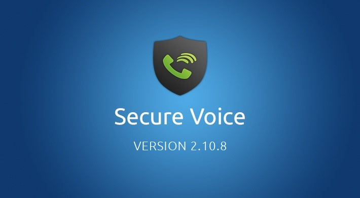 Secure Voice v2.10.8: Preparing for the next phase
