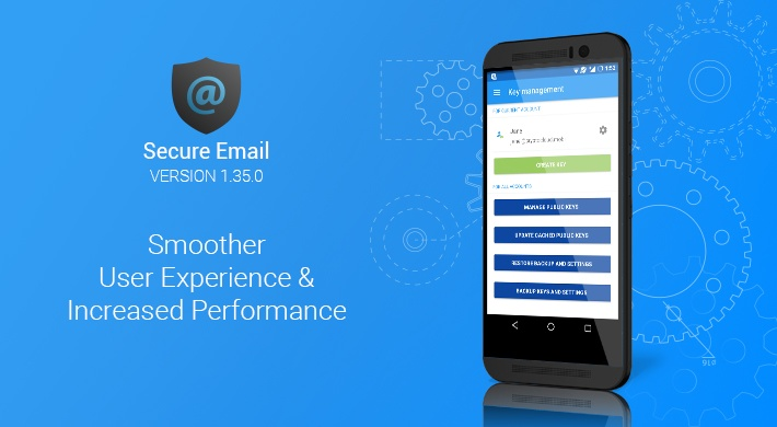Secure Email v1.35.0: Smoother User Experience & Increased Performance