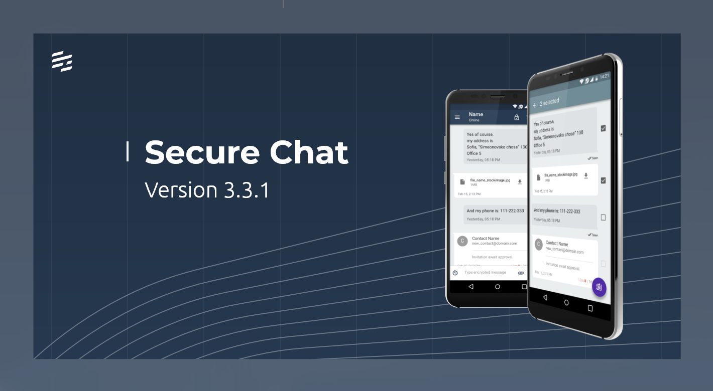 SECURE CHAT 3.3.1: Optimized reconnection for voice calls and improved battery life