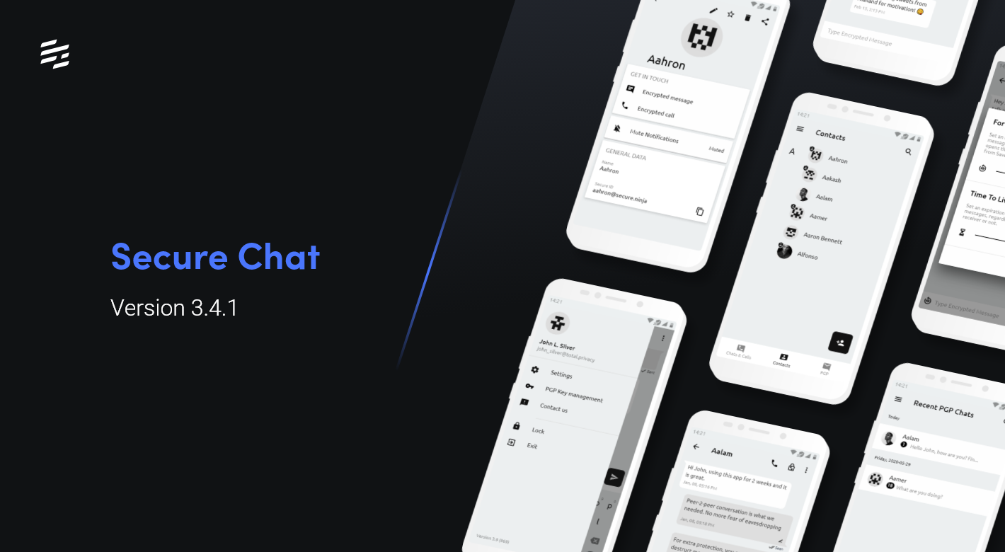 Secure Chat 3.4.1: Updated UI and Optimized Battery Consumption