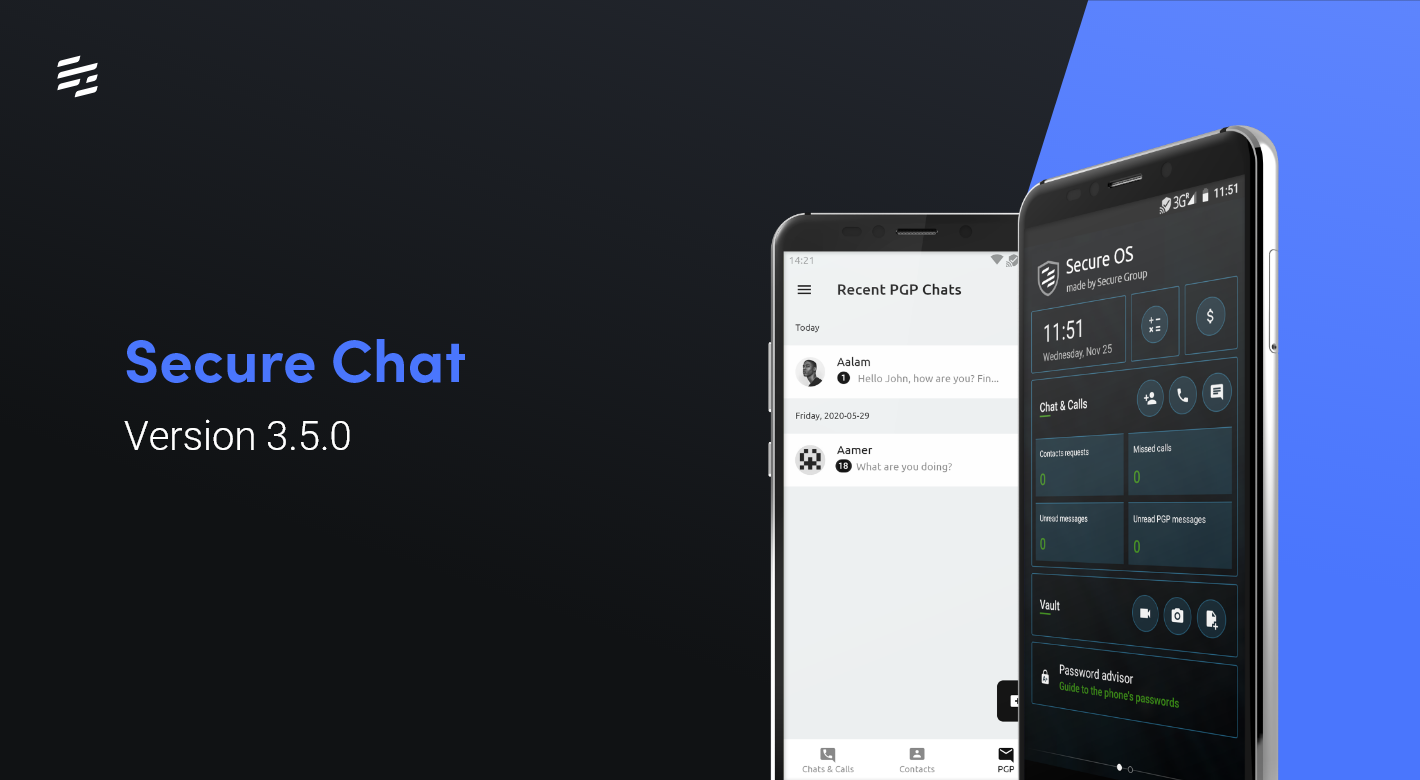 Secure Chat 3.5.0: Introducing PGP Chat