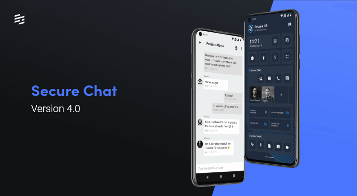 Secure Chat 4.0.0: Enhanced Group Chat Anonymity