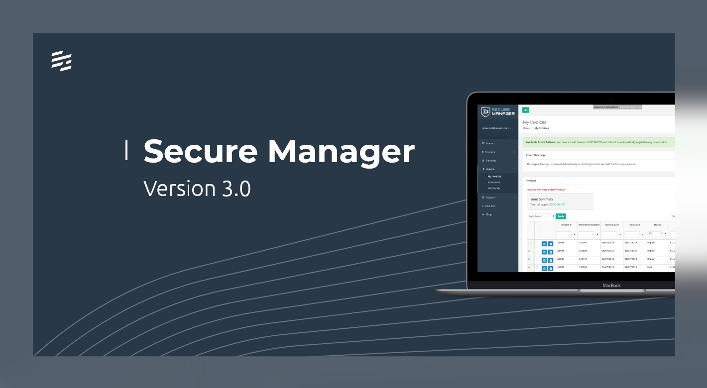 Secure Manager 3.0.0: Self-hosted Instances for Master Distributors