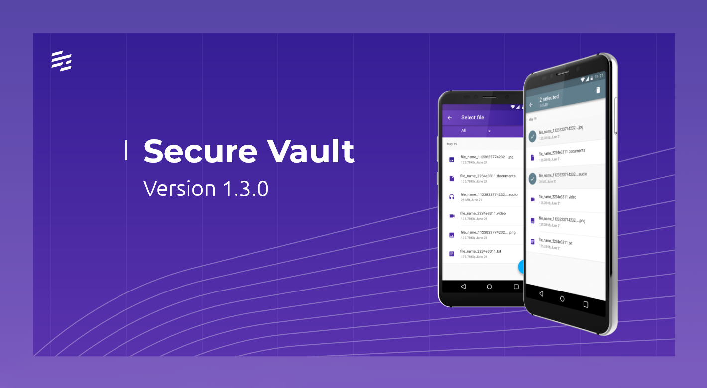 Secure Vault 1.3.0: Extended In-app Camera Capabilities and Bug Fixes