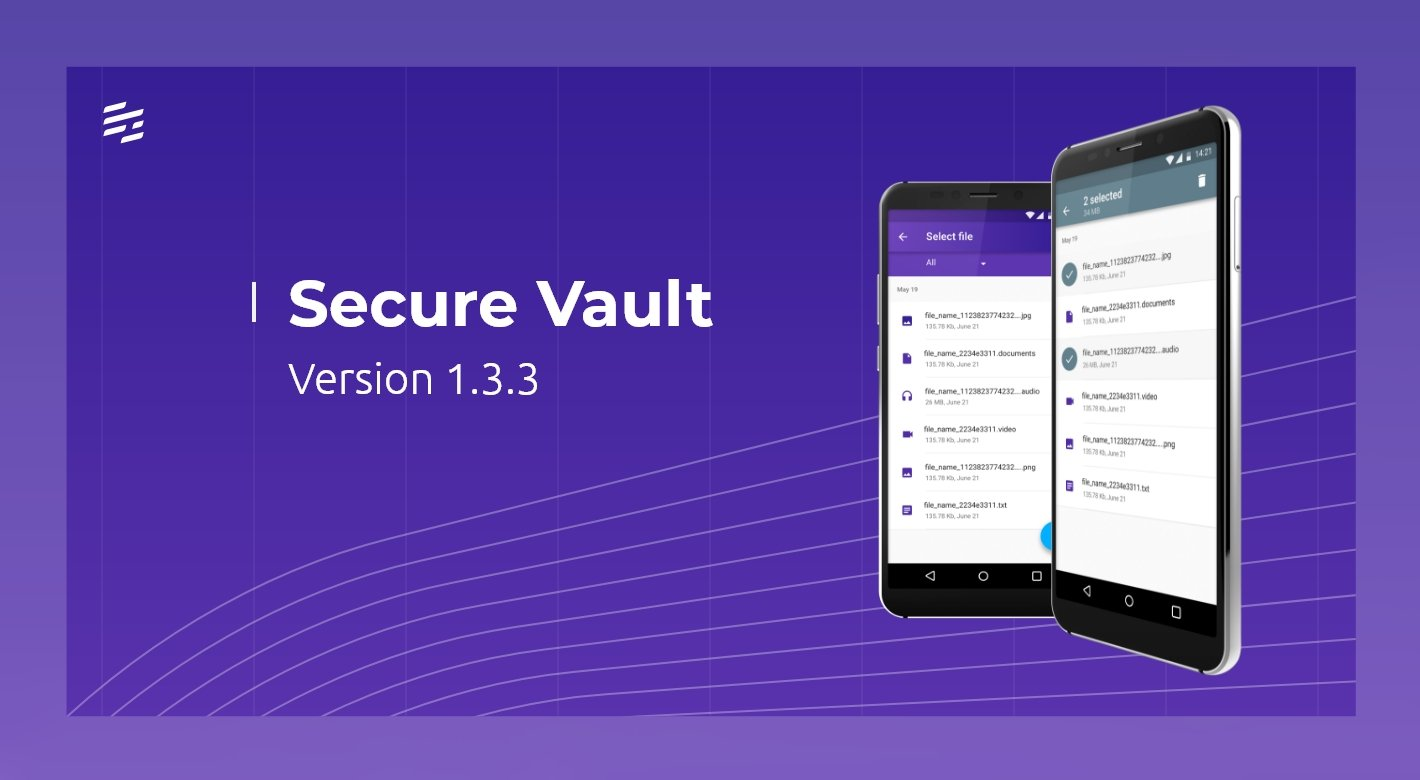 Secure Vault 1.3.3: Easier White-Labeling of Our Mobile Security Solutions