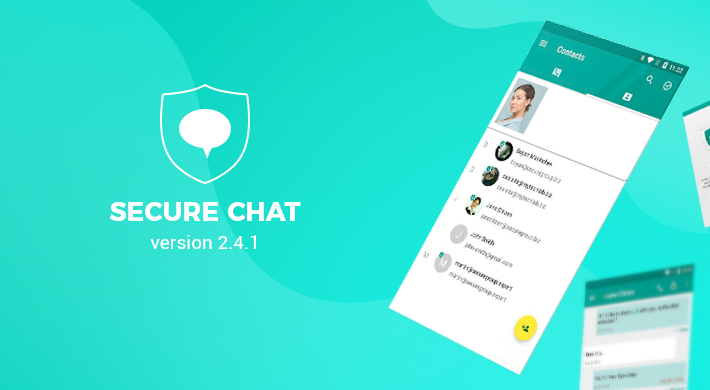 Secure Chat v 2.4.1: Connectivity Hotfix