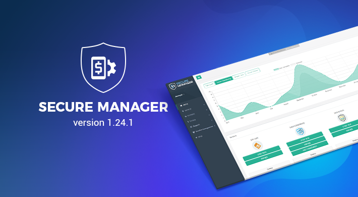 Secure Manager v 1.24.1: Improved Billing and Checkout