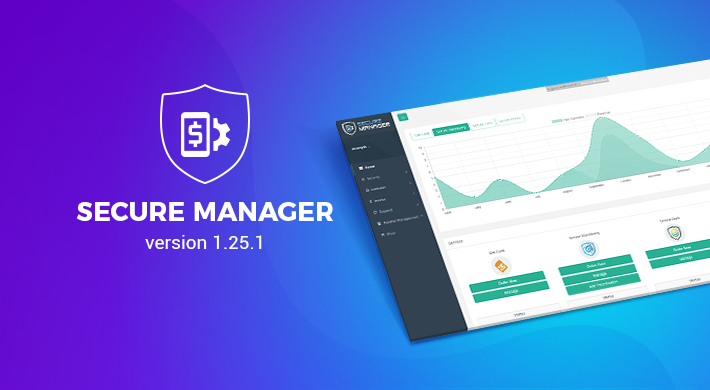 Secure Manager v 1.25.1: System Improvements