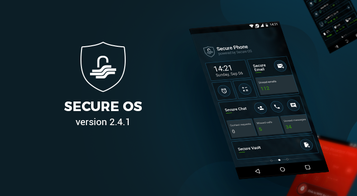 Secure OS v 2.4.1: Integrated stability and consistent updates