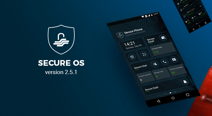 Secure OS v 2.5.1: Improved Recovery Update