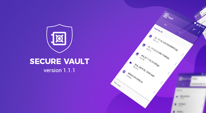 Secure Vault v 1.1.1: Fine-tuning application performance
